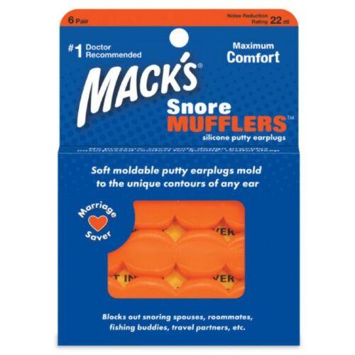 Bouchons d/'oreilles Mack/'s Snore Mufflers