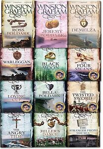Winston-Graham-Poldark-Series-Books-Collection-Set-A-Novel-of-Cornwall-Vol-1-12