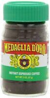 Medaglia D`oro Instant Espresso Coffee, 2 Ounce (pack Of 12) , New, Free Shippin