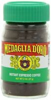 Medaglia D`oro Instant Espresso Coffee, 2 Ounce (pack Of 12) , New, Free Shippin