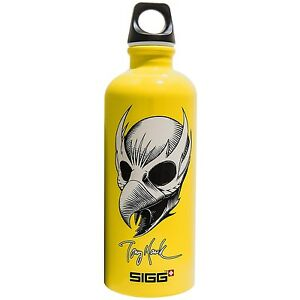 New Sigg Tony Hawk Birdman Water Bottle 6l Camp Hike Bike Bpa