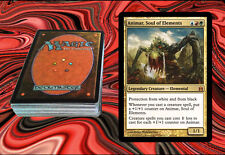 ANIMAR, SOUL OF ELEMENTS Custom Magic The Gathering EDH Deck MTG - AGGRO & COMBO