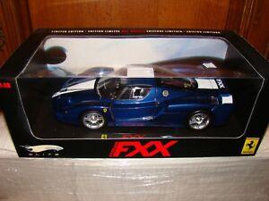 Ferrari Fxx Elite Bleu Pozzi 1/18 Eme Limited Edition Super Et Tres Rare