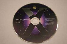 Mac OS X Leopard Version 10.5 CPU Drop-in DVD...FREE SHIPPING