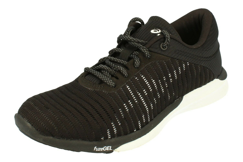 Asics Fusex Rush Adapt kvinnor Löpning Trainers T885N skor skor 901