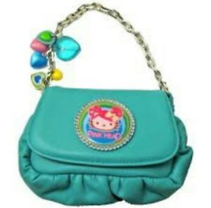 Image Is Loading Tarina Tarantino Blue Hello Kitty Collection Hand Purse