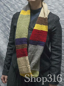 The Endless Doctor Who Infinity Scarf