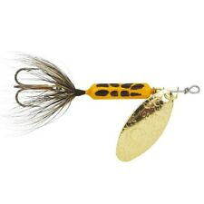 12 Worden/'s Original Rooster Tail 3//8 Oz Dressed Yellow and Black Mixed for sale online