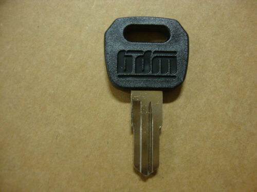 BIG DOG MOTORCYCLES IGNITION SWITCH KEY BLANK 4T ALL MODELS BDM WITH LOGO