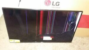 Image is loading LG-40-inch-LED-TV-broken-screen-for- LG 40 inch LED TV broken screen for sale | eBay