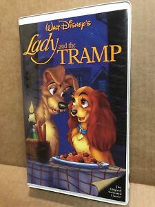 Walt Disney S Lady And The Tramp Black Diamond Vhs The Classics Edition Red Sig Ebay