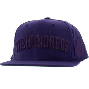 The-Hundreds-Player-Snapback-Cap-purple