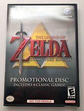 Nintendo Gamecube Legend of Zelda Collector's Edition RARE PROMO COMPLETE 2003