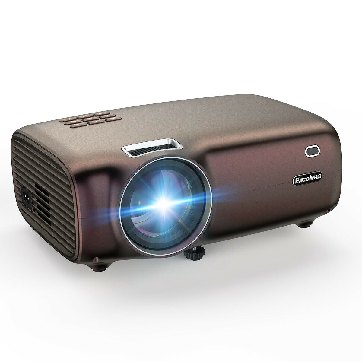 s l1600 - Nuevo Excelvan BL43 Proyector HD HDMI Led 5000 Lux 4K 3D 1080P 4:3/16:9