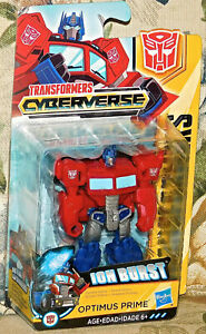 Optimus-Prime-Ion-Burst-3-034-Transformers-Cyberverse-Hasbro-Scout-class-NEW-Toy