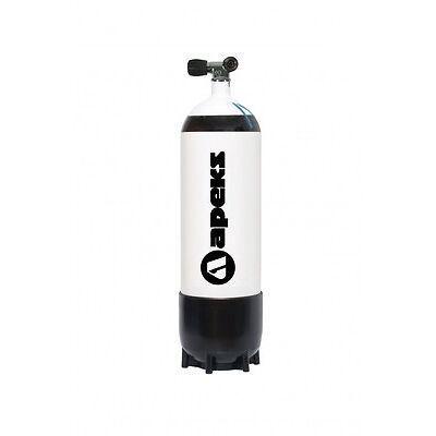 Apeks 15l Stahlflasche Steel Cylinders 15 Liter Tauchflasche