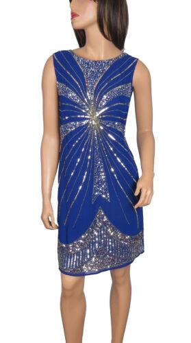 Lush Bird 1920/'s Gatsby fully embellished shift dress from size 8 to PLUS SIZES