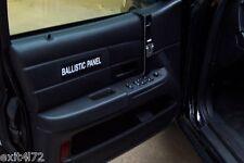 Police Intercept Ford P71 Dodge Chevy Police Ballistic door panel sticker NOS1