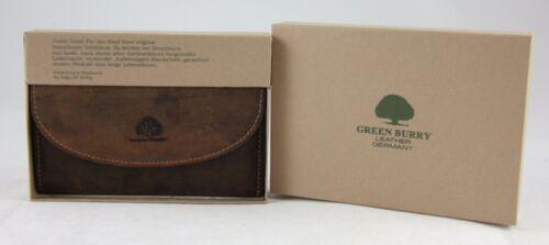 GreenBurry Damen-Börse Save-Fächer 15*10*3 cm Rind-Leder Damen-Geldbörse 1700