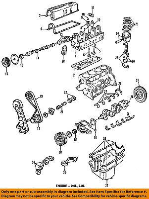 ford oem 93-97 ranger-engine oil pan gasket f57z6710a   ebay  ebay