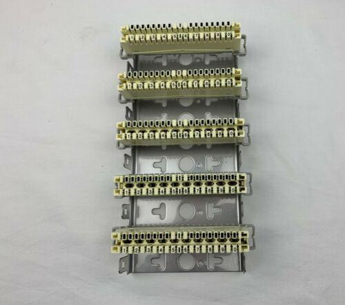 6050-Set LSA Trennleisten-Set 2//10 inkl Montagebügel für 50 DA