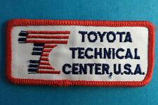 Rare Vintage 1990's Toyota Technical Center Employee Uniform Jacket Patch Crest