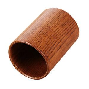 Details About Round Wood Utensil Storage Holder Kitchen Wooden Cutlery Decor Jar 15x87cm