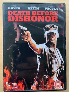 Fred-Dryer-Muerte-Before-Dishonor-Dishonour-1987-Accion-Pelicula-Raro-GB-DVD