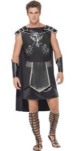 Roman Gladiator Helmet Solider Perseus Warrior Gold Greek Fancy Dress Outfit Hat