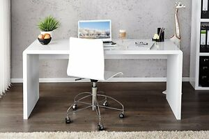 Large white office desk White Gloss Image Is Loading Enzowhitehighglosslargecomputerpchome Iinteriorinfo Enzo White High Gloss Large Computer Pc Home Executive Study Office