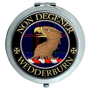 Taschenuhr Wedderburn Schottische Clan Kompakter Spiegel