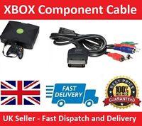 Microsoft XBOX Original Component AV VGA HD CABLE LEAD 720p HDTV (NEW UK Seller)