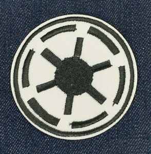 Galactic Empire Stormtrooper Star Wars Embroidered Iron On Patch