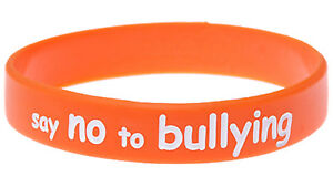 Say No To Bullying Wristbands Silicone