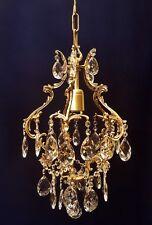 SG249 Kronleuchter Bleikristall Kristallampe Decken Leuchte lüster Ø 30 cm