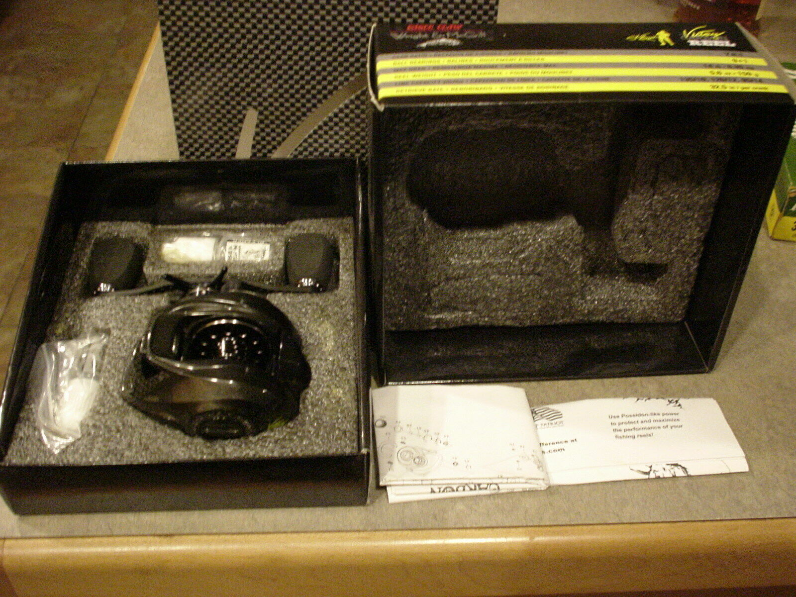 Wright Mcgill Skeet Reese Victory Pro Carbon 79R Reel Eagle Claw