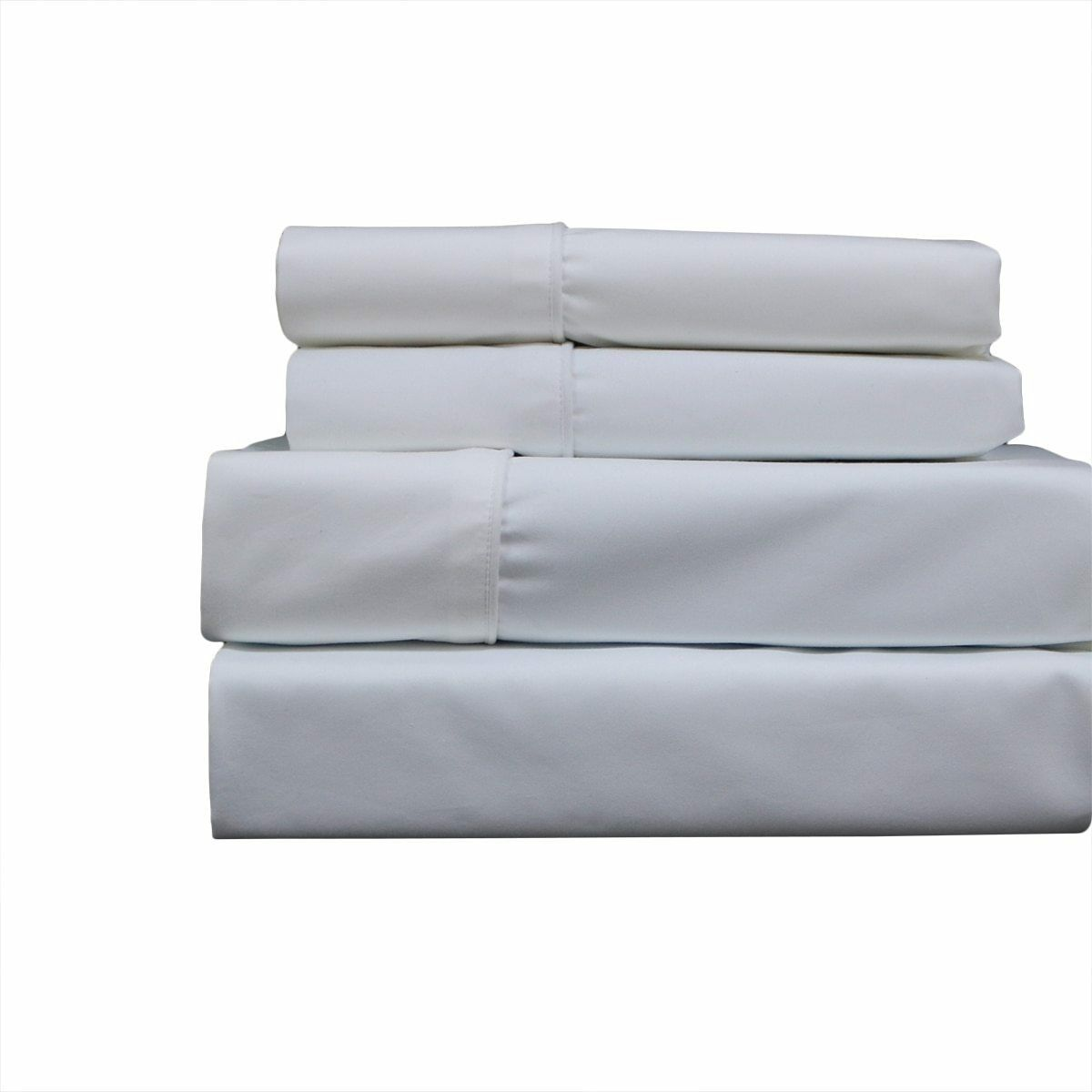 Wrinkle-Free 650Tc Cotton Blend Waterbed Sheets Un-attached