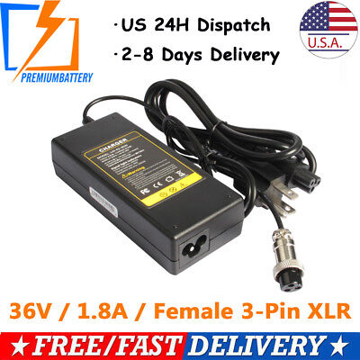 Battery Charger for Electric Scooter Minimoto Maxii 15319-MIS-002 Spirit 36Volt