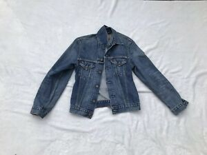 "Details zu Levi's Jeans Jacke "" Lips"" Pia Peach M Blau Conleys Impressionen"