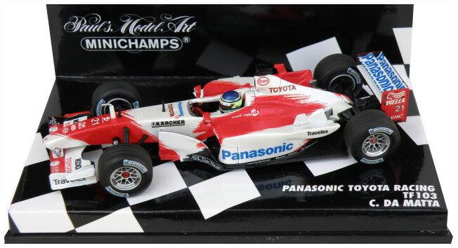 Minichamps Toyota Racing TF103 2003 - Cristiano da Matta 1 43 Scale