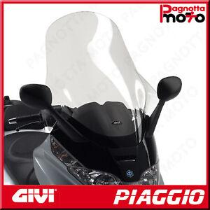 D500ST PARABREZZA SPECIFICO TRASPARENTE 80 X 60 PIAGGIO X8 250 2004>2010