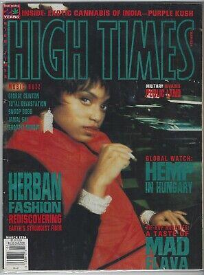 HIGH TIMES MAGAZINE MARCH 1994 EXOTIC CANNABIS OF INDIA-PURPLE KUSH! MAD  FLAVA! | eBay