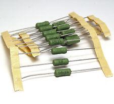 20x Draht-Widerstand 0.1 Ohm / 100 mOhm, 5%, 3W, 3 Watt, Strom-Meß-Shunt