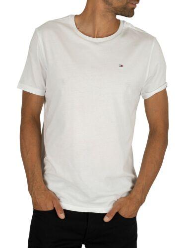 Tommy Hilfiger Men/'s Icon T-Shirt White