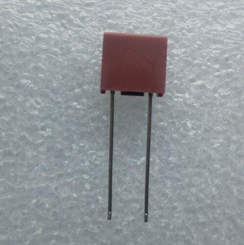 Fusible protection rectangle 1A T1 Ampère 250V couleur marron .C54.5