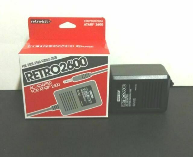 6 LOT AC Power Supply Adapter Plug Cord for the Atari 2600 System Console New