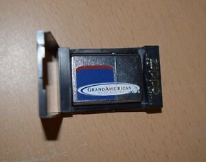 2002-Zippo-Lighter-Grand-American-Road-Racing-Street-Chrome-Finish-NEW-IN-BOX