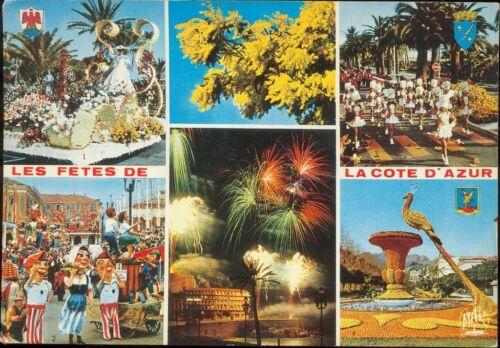 06 - cpsm - Les fêtes de la Côte d'Azur