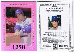 STEVE-GARVEY-10-CARD-LOT-2002-TOPPS-TRIBUTE-25