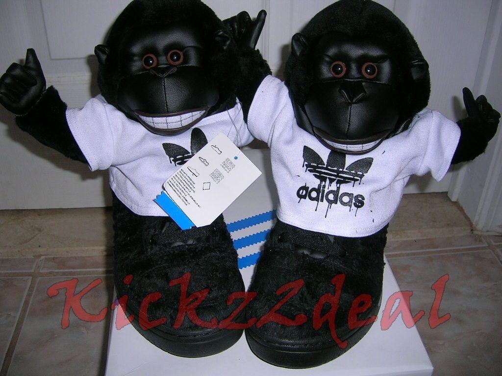 NEW RARE ADIDAS JS Gorilla shoes Jeremy Scott SZ 8  11 V24424 Panda wings bear
